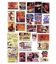 More details for cinema posters paper copy of enamel signs smf40 colour oo scale models decals