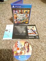 Grand Theft Auto V (GTA 5) Premium Edition - Sony PS4 Game - With Map! FREE P&P!
