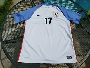 RARE 2016 JOZY ALTIDORE USA USMNT NIKE AUTHENTIC SOCCER JERSEY L WHITE LARGE