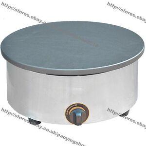 "15.75"" 40cm Heavy Duty Nonstick Gas Pancake Crepe Maker Machine Baker Iron Mold"