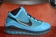 CLEAN Nike Air Max Lebron 7 VII All Star Chlorine Blue Size 10 Black OG ALL