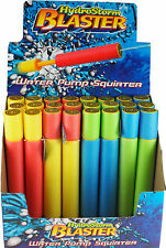 Set Of 24 Foam Water Pistol HYDRO STORM  Blaster Shooter Pump