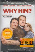WHY HIM (DVD, 2017, Includes Digital Copy) NEW