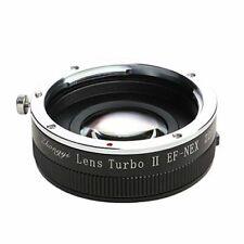 Zhongyi Lens Turbo II Focal Reducer Adapter Canon EOS EF to Sony E NEX 5R A6300