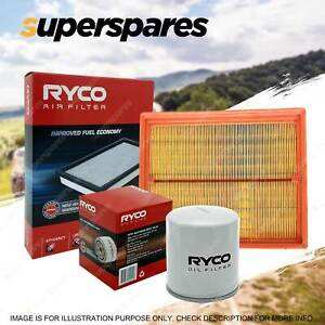 Ryco Oil Air Filter for Holden Barina MB ML 4cyl 1.3L Petrol 02/1985-1988