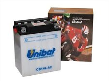 BATTERIA MOTO SCOOTER UNIBAT YUASA CB14L-A2 ARCTIC CAT All Models 250 All