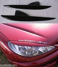 Peugeot 206 206CC Eye brows lid mask cover eyebrows eyelids cover lids masks