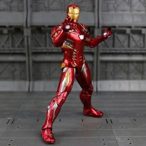 Marvel The Avengers Superheld Action Figur Figuren Spielzeug Iron Man 16cm.