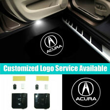 2Pcs ACURA Car Door Welcome Projector Lights for TLX RDX CDX NSX MDX RLX ZDX ILX
