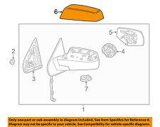 GM OEM Door Side Rear View-Mirror Cover Cap Trim Right 22919758