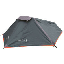 Highlander Blackthorn 1 Person Tunnel Tent Army Camping Backpacking Hunter Green