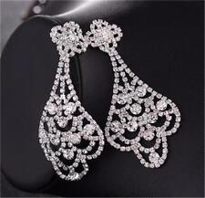 W0129 Strass & Perlen Ohrringe - Geschenktüte
