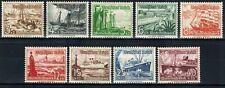 Germany reich 1937, Winter Relief Fund, Sc B107-115, Mi.651-659, MNH