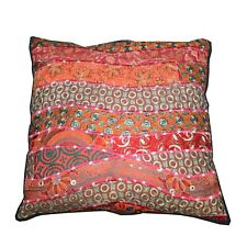 Size: 17 x 17 Inches Handmade decorative Pillow cover Silk/Cotton SA-01