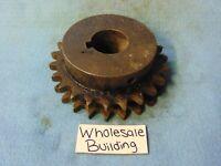 Chain #50 Solid Steel 1/'/' Bore 14 Teeth 1 Row Martin Sprocket  50BS14HT 1