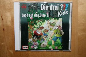 Die drei ??? Fragezeichen Kids 46 Jagd auf das Dino-Ei / CD 2015