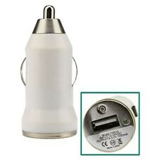 White Universal Micro Mini Car Cigarette Lighter to USB Charger Adapter Generic