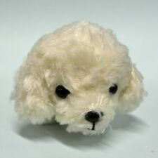 Baby Poodle Plush (White) cute & realistic (LB)