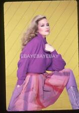 941Q JANINE TURNER 1982 Harry Langdon 35mm Transparency w/rights