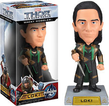 FUNKO MARVEL THOR DARK WORLD LOKI WACKY WOBBLER BOBBLE HEAD FIGURE BRAND NEW
