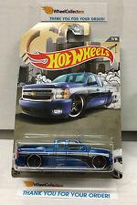 Chevy Silverado BLUE * 2016 Hot Wheels * Truck Series Walmart * N100