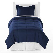 Twin XL 5-Piece Bed in a Bag (Twin XL, Dark Blue)
