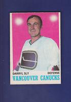 Darryl Sly RC 1970-71 O-PEE-CHEE OPC Hockey #115 (VGEX) Vancouver Canucks