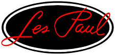 """#4182 (1) 4.5"""" Gibson Les Paul Guitar Company Decal Sticker LAMINATED"""