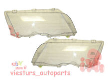 BMW 3 Series E46  1998 - 2001 SALOON / ESTATE  Headlight Lens LEFT and RIGHT set