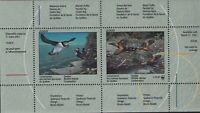 Canada (Quebec) VD #QW13A (2000) Wildlife Revenue Souvenir Sheet WWF Surcharge