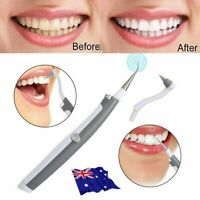 Electric Sonic Dental Tooth Stain Polisher Teeth Whitener Plaque Remover LG