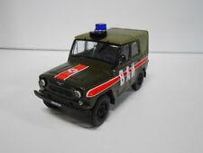 UAZ 469 MILITAR RUSSIAN SERVICES CARS DEAGOSTINI IXO 1:43