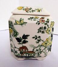 Mason's Ironstone Manchu Pattern Tea Caddy Jar Beautiful Detail