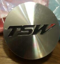 TSW Wheels Silver Custom Wheel Center Cap # PCG18-F (4) PLUS ONE EXTRA BASE