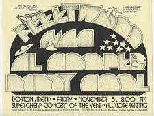 FLEETWOOD MAC Al Kooper DADDY COOL Original 1971 Concert Handbill