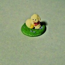 1992 Hallmark Easter Merry Miniatures Lamb With Yellow Chick
