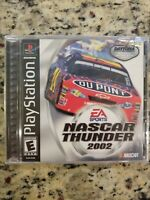 Nascar Thunder 2002 (Playstation PS1) Game Brand New, Sealed! FREE S/H