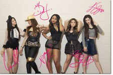 5TH HARMONY SIGNED PHOTO PRINT POSTER - 12 X 8 INCH - 7/27 - A+ QUALITY