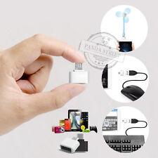 2x Micro USB OTG to USB 2.0 Host Adapter Für Tablet Samsung Galaxy Android