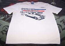 Ford Falcon XC Cobra Mens White Printed Short Sleeve T Shirt Size M New