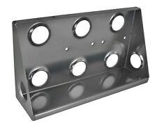 Motamec Alloy Twin Facet Fuel Pump & Filter King Mounting Bracket Vertical Anodi