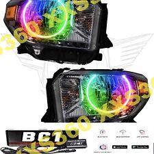 ORACLE Halo HEADLIGHTS for Toyota Tundra 14-17 COLORSHIFT LED Bluetooth BC1