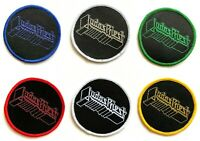 JUDAS PRIEST - Logo - Woven Patches Sew On Heavy Metal NWOBHM