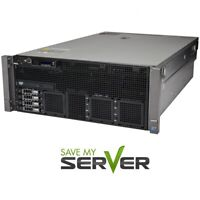 Dell PowerEdge R910 Server 4x 2.26GHz X7560 32 Cores 128GB RAM H700 RPS +2 Trays