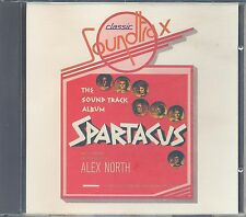 Spartacus - Alex North soundtrack (Trax CD)