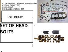 KIA SORENTO HYUNDAI I800 2.5 CRDI D4CB Crankshaft ENGINE REBUILD KIT  Brand NEW