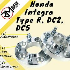 Honda Integra Type R DC2 DC5 5x114.3 64.1 20mm Hubcentric wheel spacers 1 pair