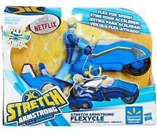 Flex Power Stretch Armstrong Flexycle Figure & Vehicle