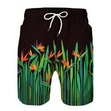 Mens Board Shorts Surf Beach Sport Swim Wear Leisure Trunks Pants Swimsuit Liner