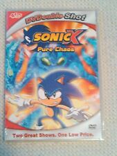 Sonic X: Pure Chaos / A Chaotic Day (DVD, 2005, Slim Case)*Brand New*/*Sealed*